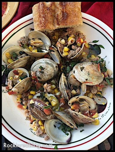 Spicy clam dinner graves