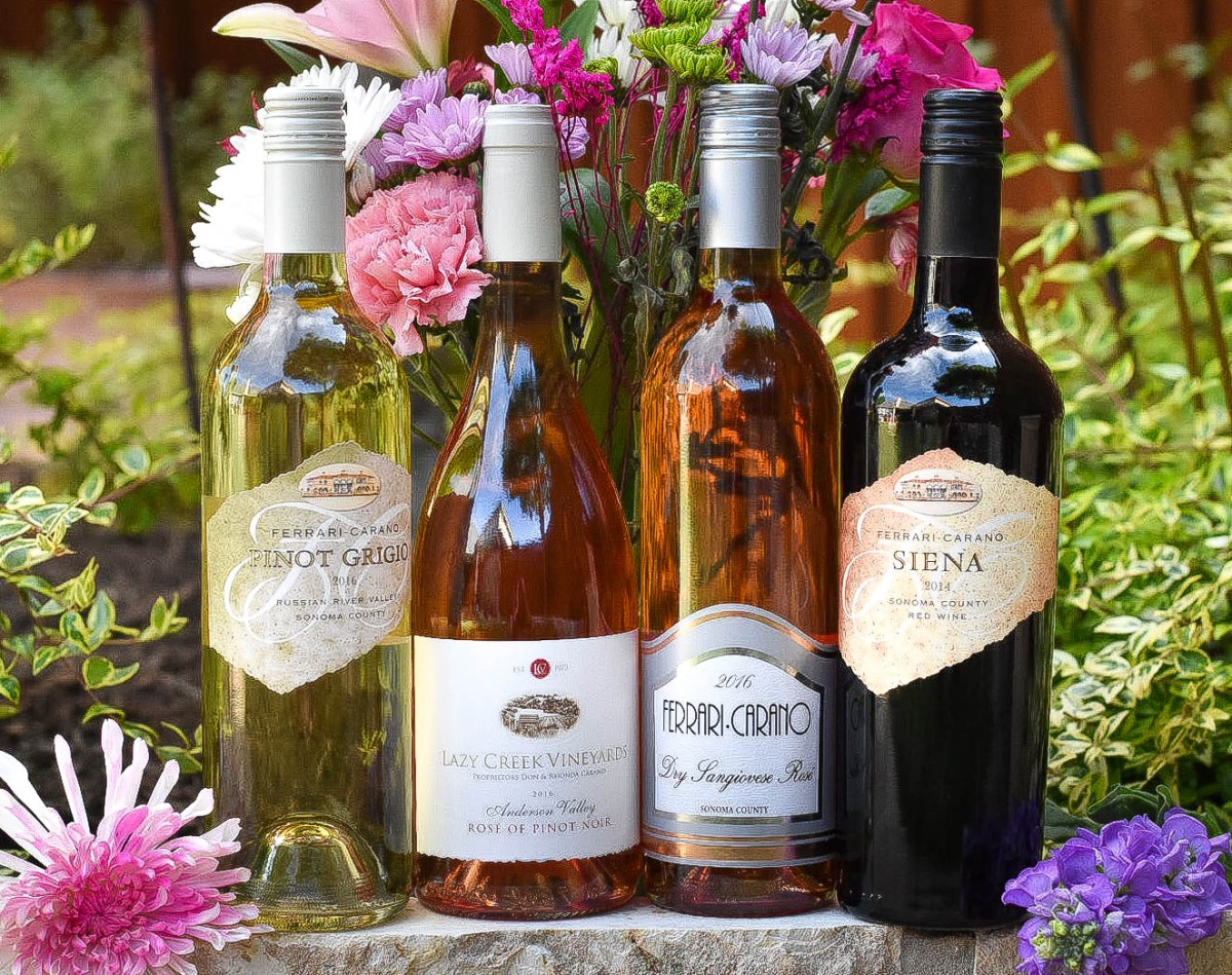 your memorial weekend will sizzle with these ferrari-carano wines
