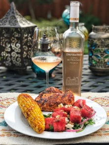 chateau berne inspiration provence rose dinner winophiles
