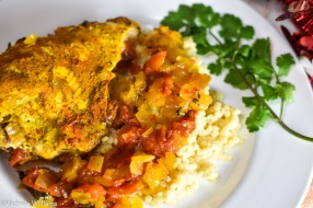 Tangine Curry Chicken dinner Winophiles Valentines Day (1 of 1)