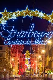 Alsatian Christmas market Strasbourg