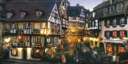 Alsatian Colmar in Christmas